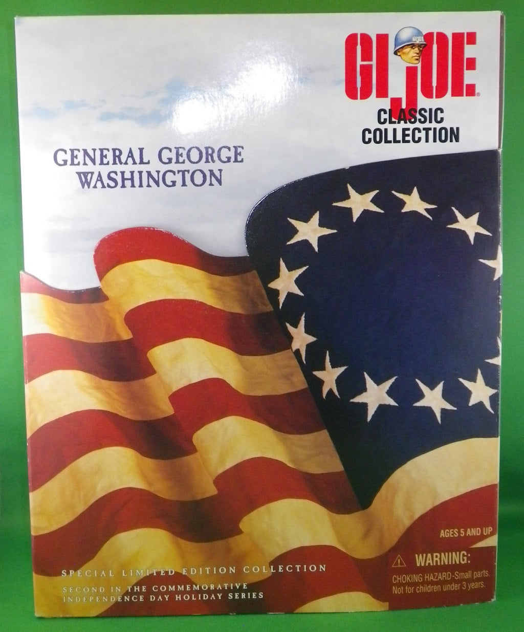 GI Joe General George Washington Hasbro Kenner 1998