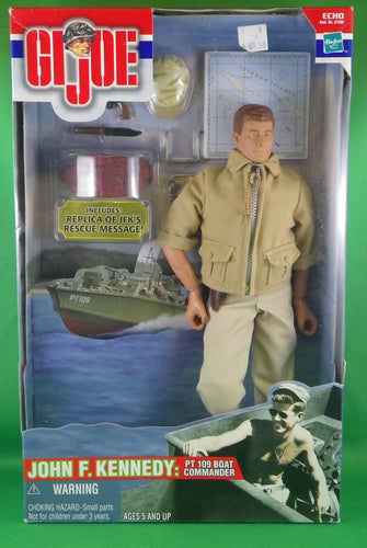 GI Joe John F Kennedy PT 109 Boat Commander Action Figure