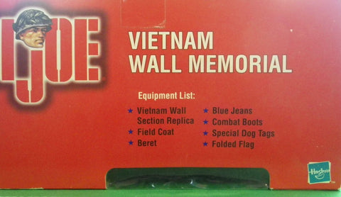 GI Joe Vietnam Wall Memorial Diorama Action Figure