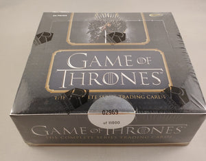 Game Of Thrones Complete Series Trading Card Box