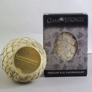 Game of Thrones Rhaegal Dragon Egg Paperweight