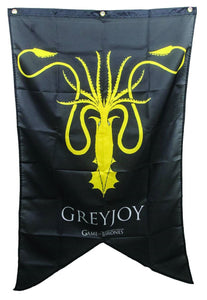 Game of Thrones Greyjoy Fabric Banner