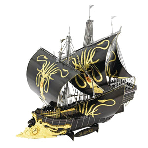 Game of Thrones Metal Earth Silence Ship Model Kit