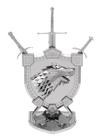 Game of Thrones Metal Earth House Stark Sigil Model Kit