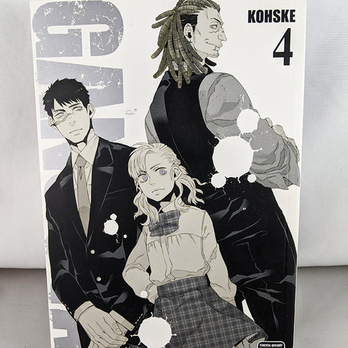 Front cover of Gangsta Volume 4. Manga by Kohske