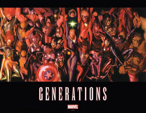 Generations By Alex Ross Oversized Vinyl Poster
