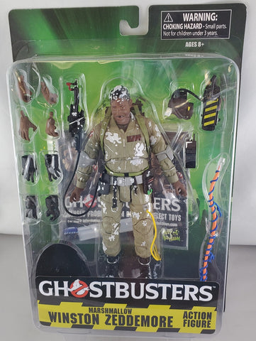Ghostbusters Marshmallow Winston Action Figure