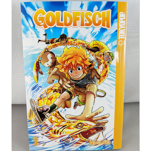 Front Cover of Goldfisch volume 1. Manga by Nana Yaa