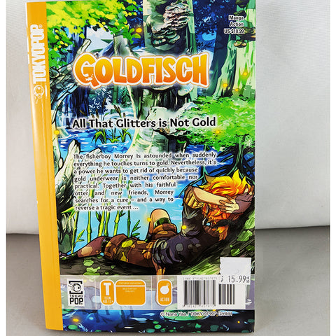 Front Cover of Back cover of Goldfisch volume 1. Manga by Nana Yaa