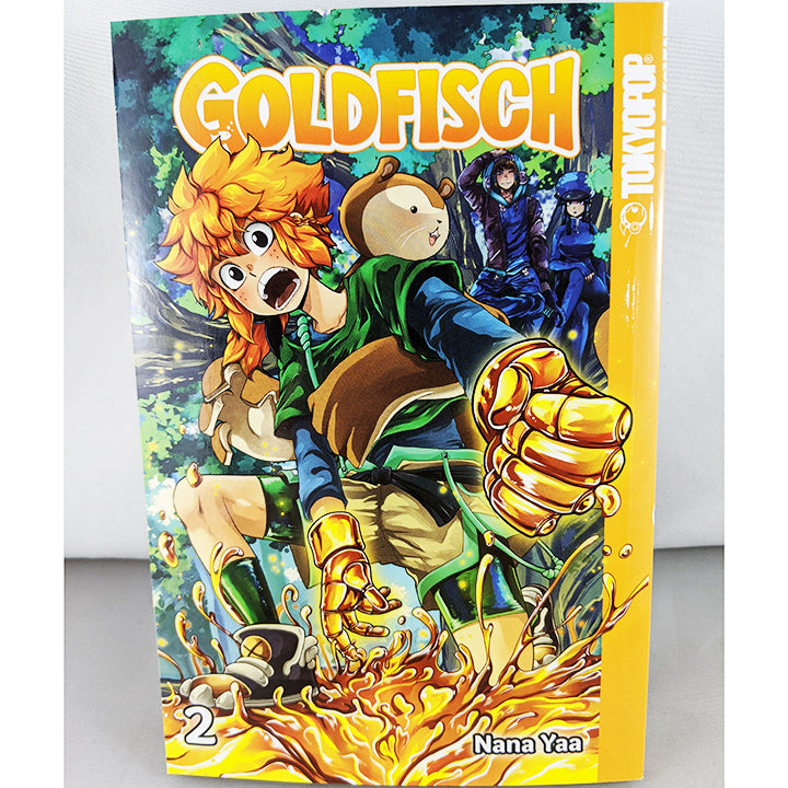 Front cover of Goldfisch volume 2. Manga by Nana Yaa