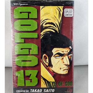 Front cover of Golgo volume 13. Manga by Takao Saito