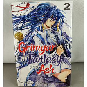 Front cover of Grimgar of Fantasy and Ash Volume 2. Manga by Ao Jumonji.