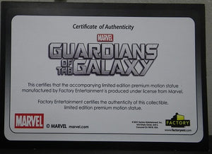Guardians of the Galaxy Baby Groot 1:1 Scale Premium Motion Statue