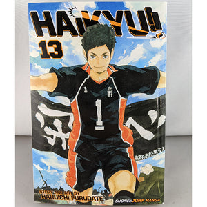 Front cover of Haikyuu!! Volume 13. Manga by Haruichi Furudate