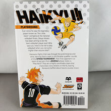 Back cover of Haikyuu!! Volume 13. Manga by Haruichi Furudate