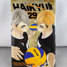 Front cover of Haikyuu!! Volume 29. Manga by Haruichi Furudate