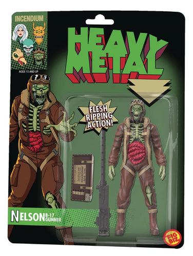 Heavy Metal Nelson B-17 Zombie Bomber 5-Inch Action Figure