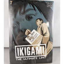 Front cover of Ikigami The Ultimate Limit Volume 7. Manga by Motoro Mase.
