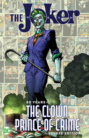 joker 80 years of the clown prince of crime hardcover book