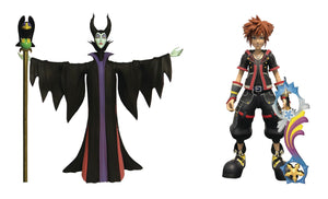 Kingdom Hearts 3 Select Maleficent & Sora Action Figure