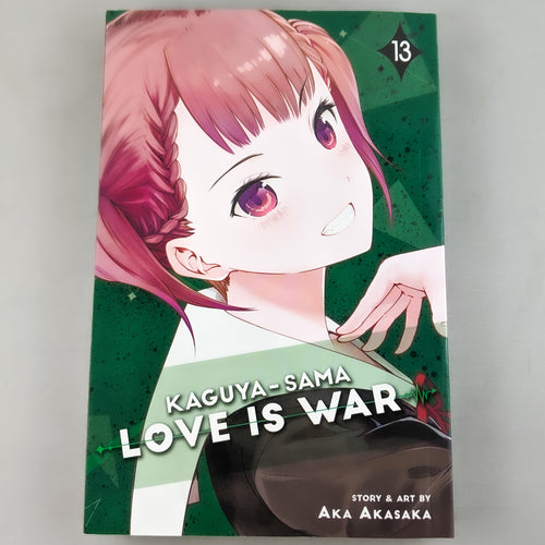 Kaguya-Sama Love Is War Volume 13. Manga by Aka Akasaka