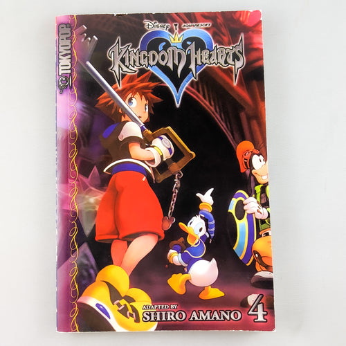 Kingdom hearts Manga volume 4. Manga by Shiro Amano.