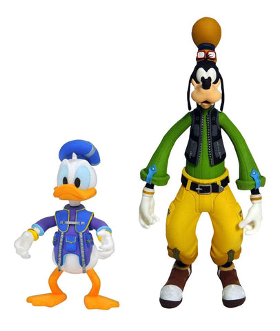Kingdom Hearts 3 Select Goofy & Donald Figure