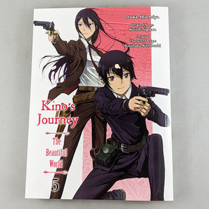 Kino's Journey: The Beautiful World Volume 5. Manga by Iruka Shiomiya, Keiichi Sigsawa and Kouhaku Kuroboshi.