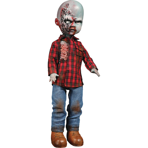 Living Dead Dolls Dawn of the Dead Plaid Shirt Zombie