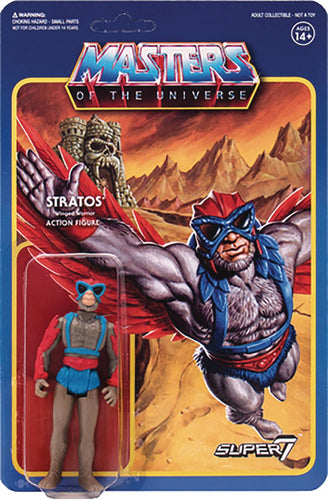 Masters Of The Universe Stratos Reaction Figure
