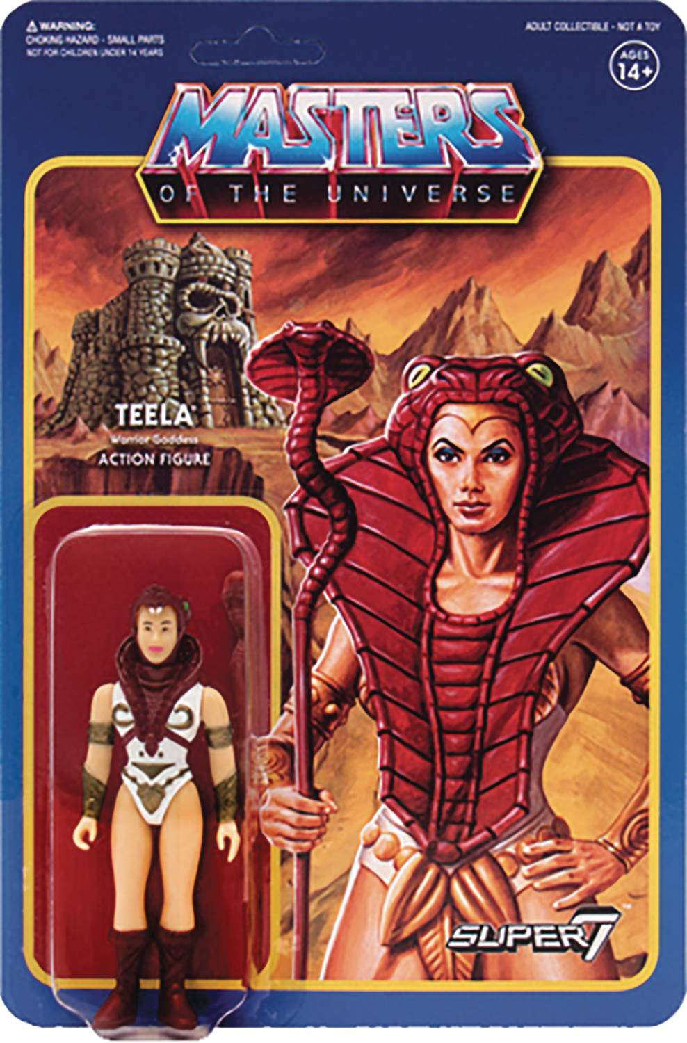 Masters Of The Universe Teela Reaction Figure