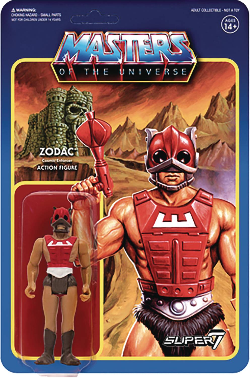Masters Of The Universe Zodac Reaction Figure