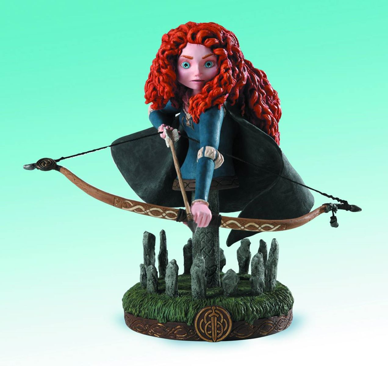 Brave Merida Grand Jester Mini-Bust