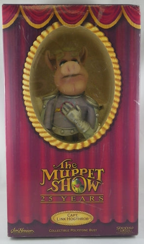 Muppet Show Captain Link Hogthrob Polystone Bust
