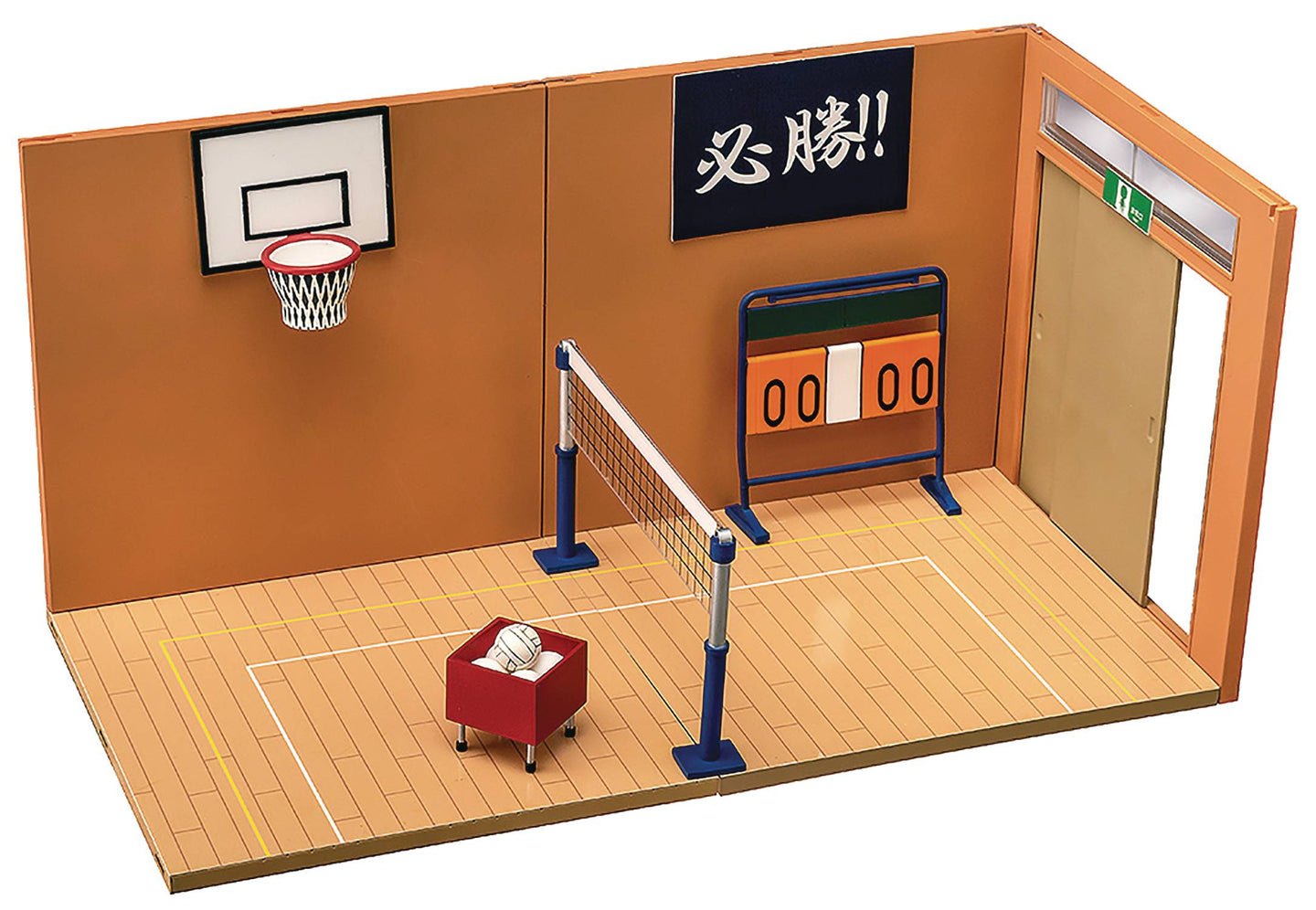 Nendoroid Play Set 07 Figure Diorama Gymnasium Set A