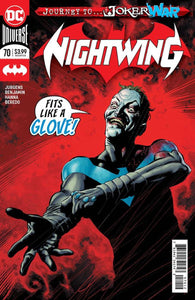 nightwing 70 2nd ptg comic