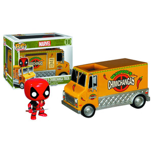 Deadpool Chimichanga Truck Pop! Rides  Vinyl Figure