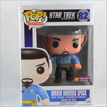 Spock Star Trek Mirror Mirror POP! PX Vinyl Figure