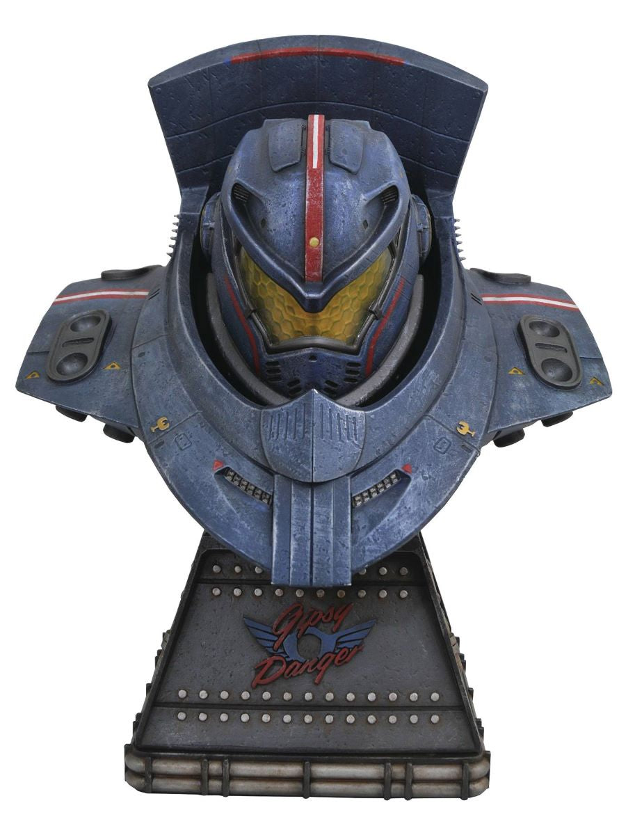 Legendary Film Pacific Rim Gypsy Danger 10-Inch Bust