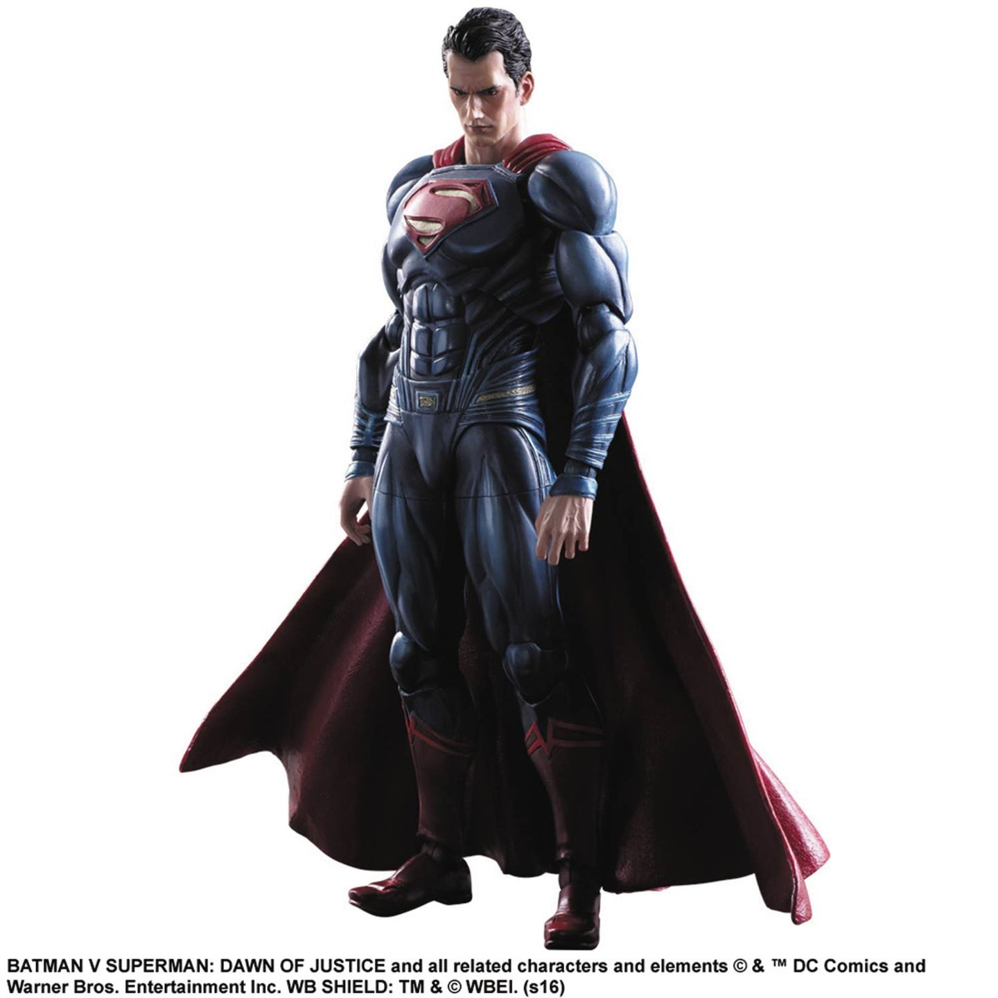 superman play arts kai figure