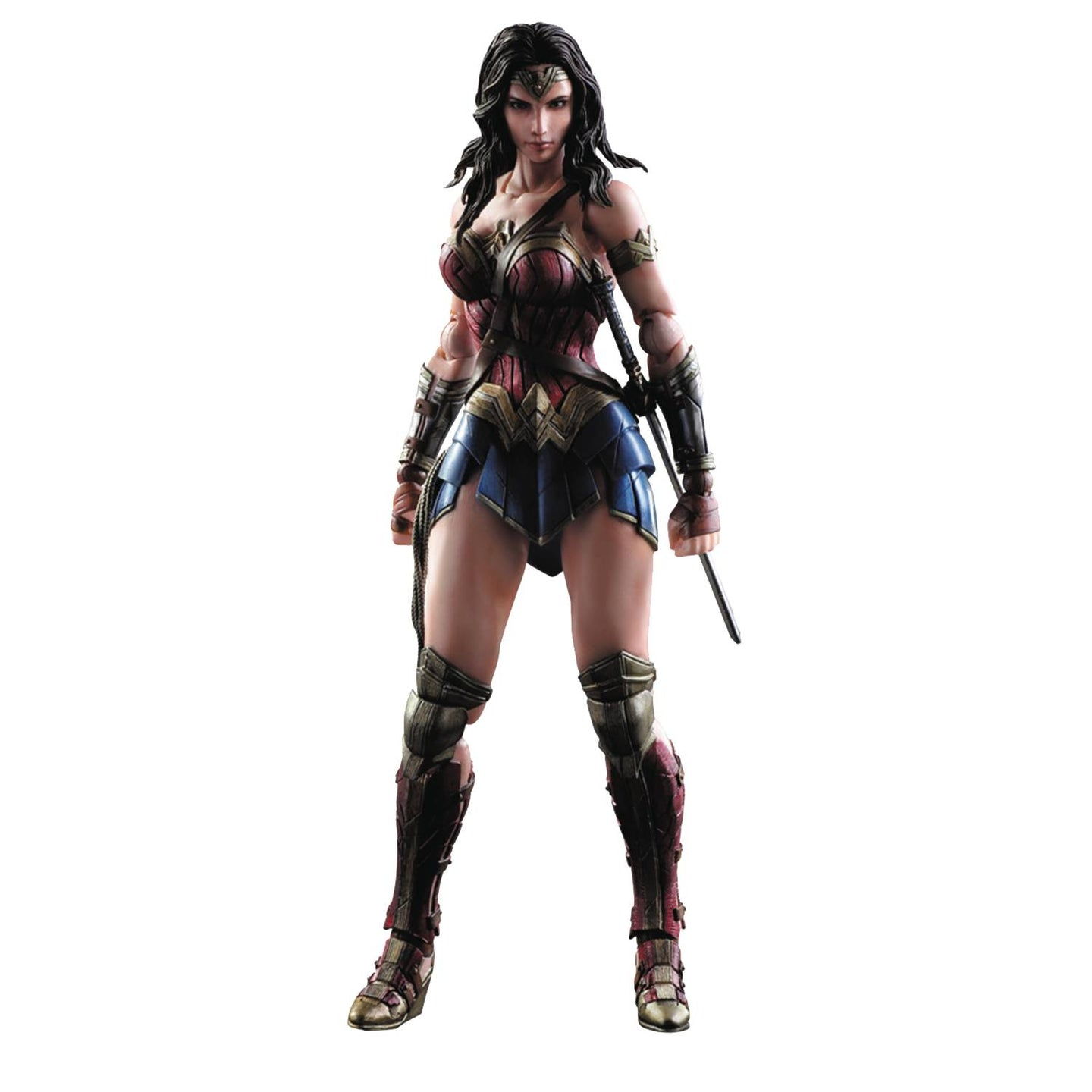 wonder woman play arts kai figure
