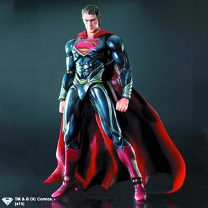 Man Of Steel Superman Play Arts Kai Figure