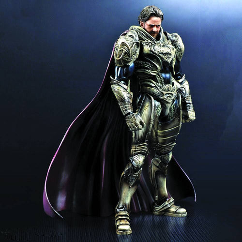 Man Of Steel Jor-El Play Arts Kai Figure