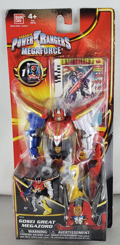 power rangers megaforce gosei megazord figure