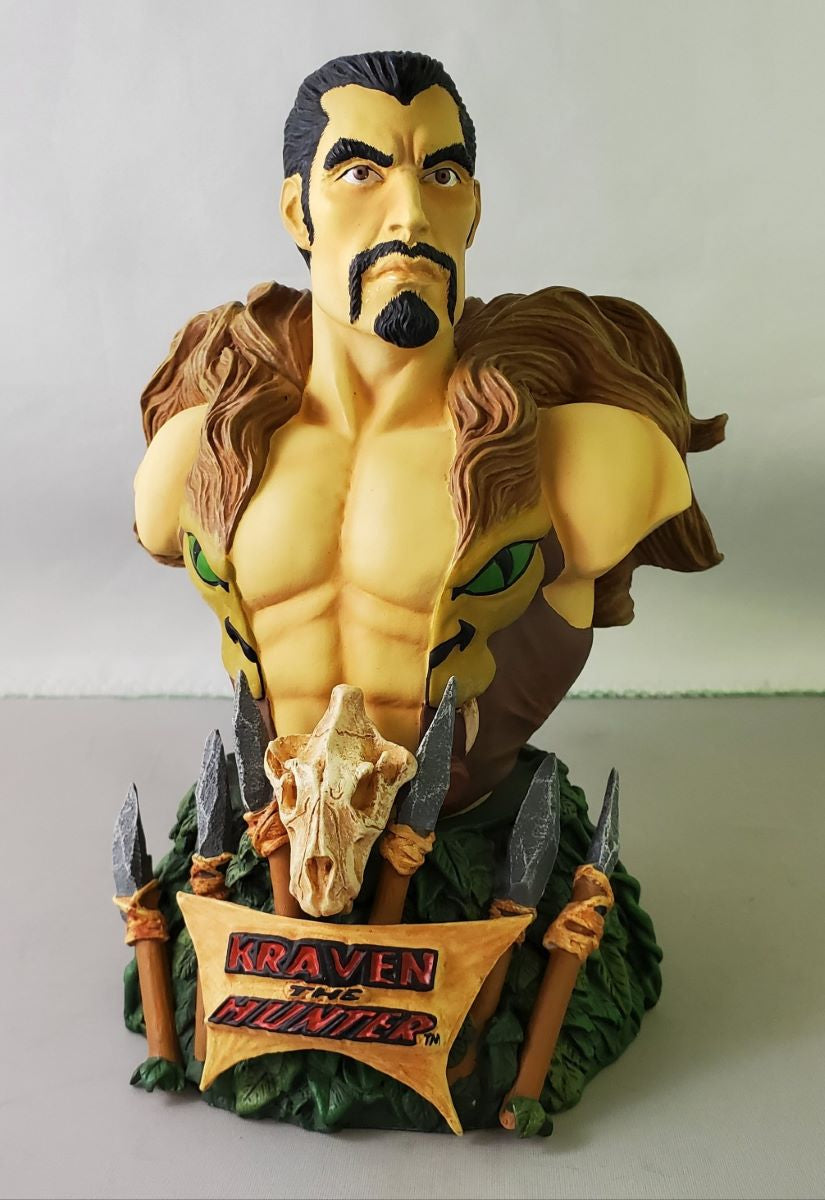 art asylum rogues gallery kraven mini bust