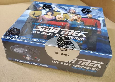 Complete Star Trek The Next Generation Series 1 Trading Card Box
