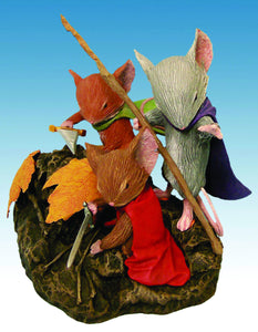 Mouse Guard Trio 5 Inch Resin Statue