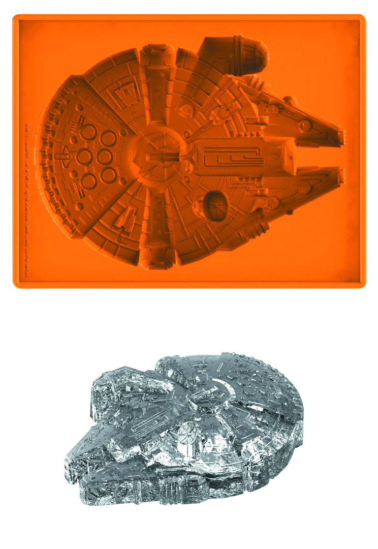 Star Wars Millennium Falcon Deluxe 10 Inch Orange Silicone Tray