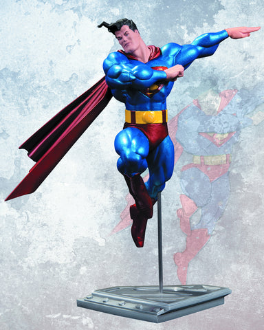 superman resin statue by frank miller