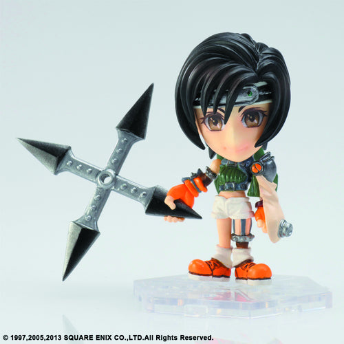 Final Fantasy Trading Arts Kai Mini Yuffie 3 Inch Figure